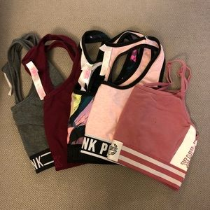 PINK sports bra BUNDLE!